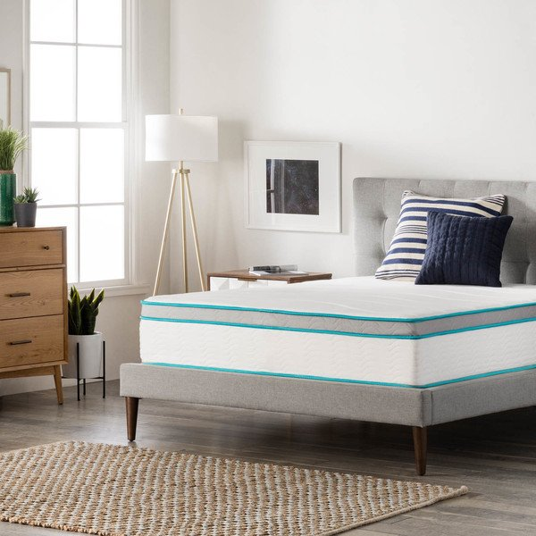 LinenSpa 12-Inch Gel Memory Foam Hybrid Mattress – Ultra Plush Review 2019