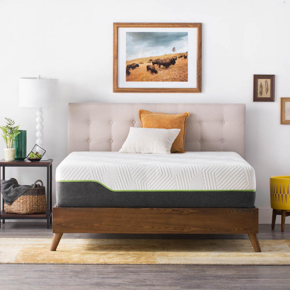 LUCID 12 Inch King Hybrid Mattress Review