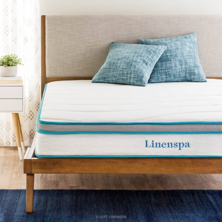Linenspa Memory Foam and Innerspring Hybrid Mattress Review