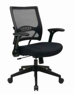 SPACE Seating AirGrid Black Mesh Seat