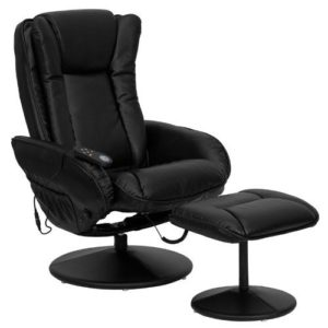 T & D Enterprises Massaging Recliner with Ottoman